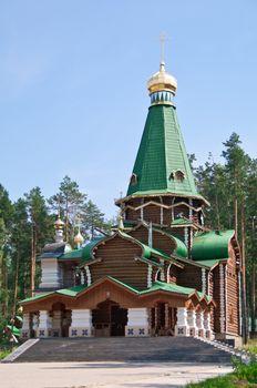 Wooden orthodox church