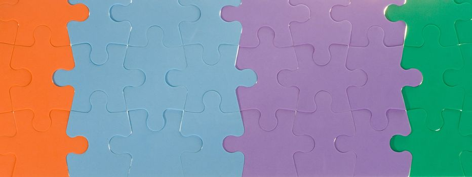 close-up color puzzles background