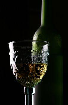Goblet and Bottle