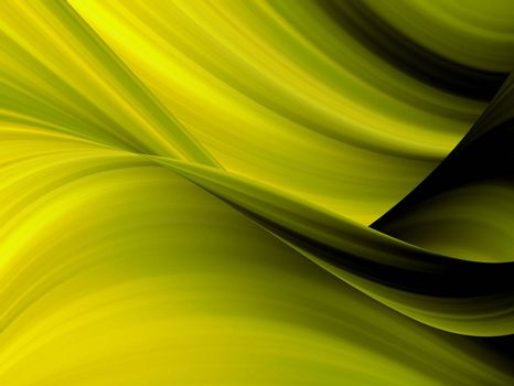 yellow dynamic waves, effect background