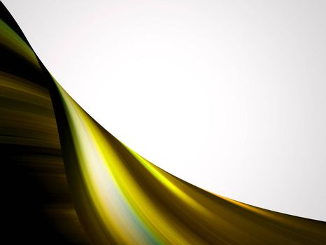 yellow dynamic background, wave effect