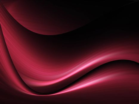 red illustration clip art, dynamic wave with light effects