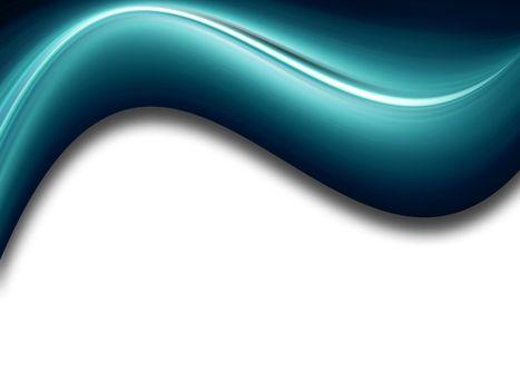 blue 3d conceptual background whit sahdow