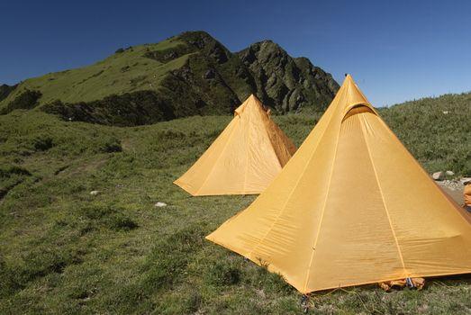 Tents In Alpine