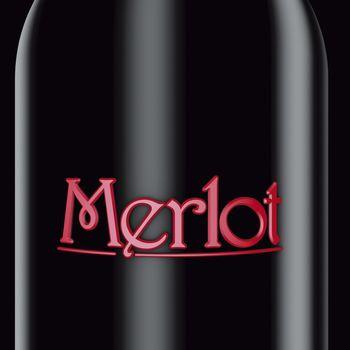 Black bottle Merlot