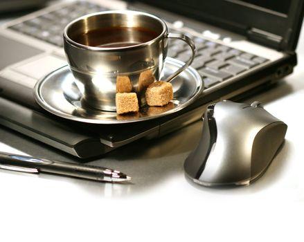 Morning coffee break