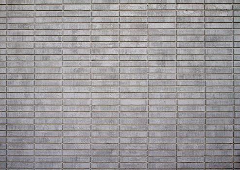white painted bricks distant