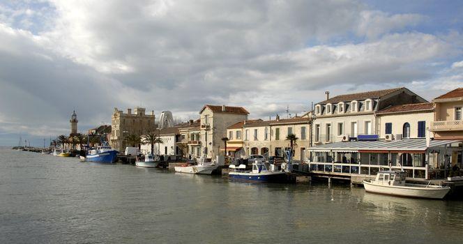 Harbor of Grau Du Roy, Languedoc Roussillon, France