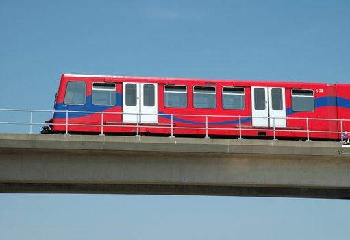 Docklands Light Railway, London