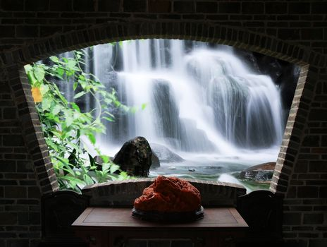 Water falls and cascade