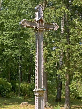 wooden rood