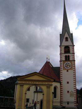 Church in Meltina, Italy