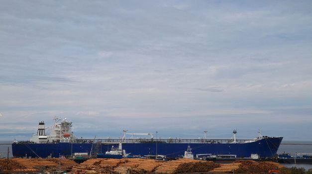 Lumber Ship