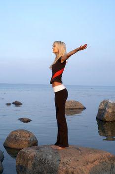 seashore meditation