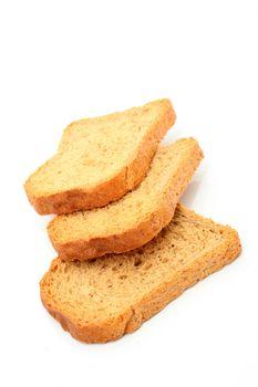 three slices bread