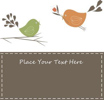 birds with love
