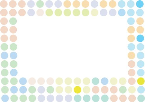 Color background with circles