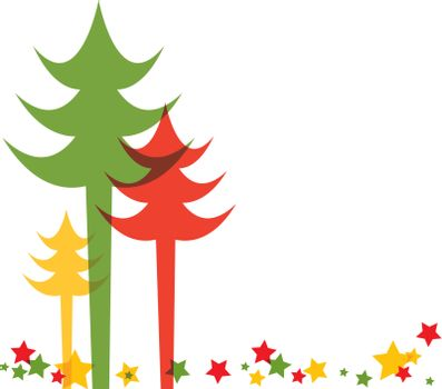 Colorful Christmas tree