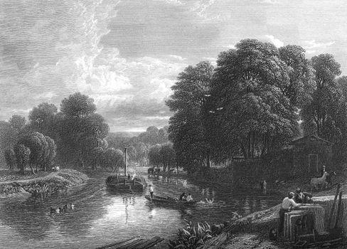 Boating on River Thames