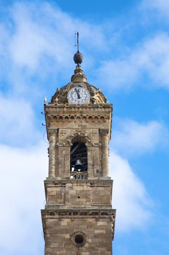 bell tower at vitoria