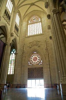 door of cathedral