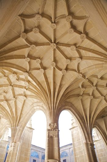 roof of cloister