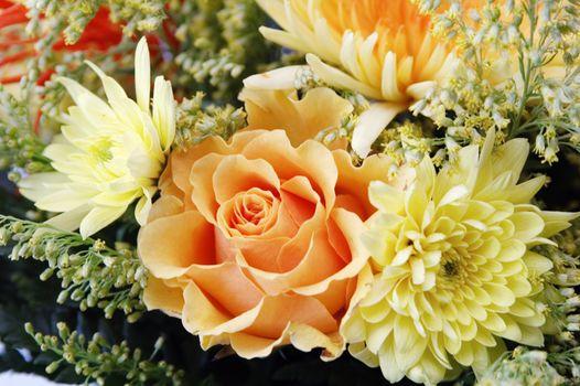 Bouquet summer of colors