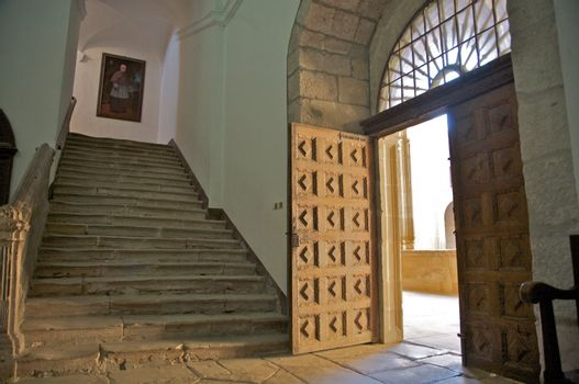 entry ancient door