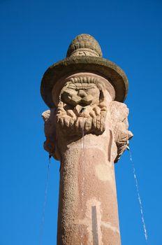 faces fountain