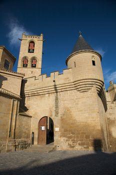 olite castle entry
