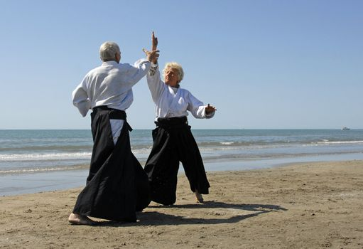 retrait�s en aikido