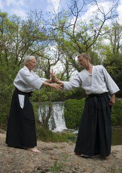 training of Aikido