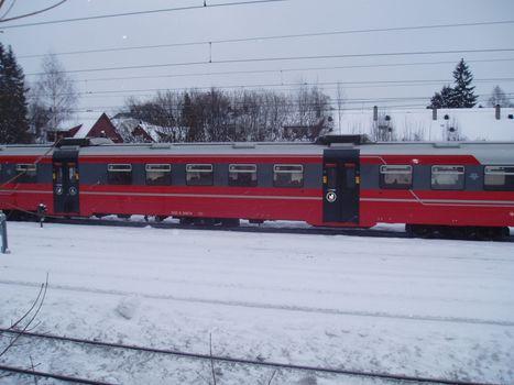 NSB train wagons