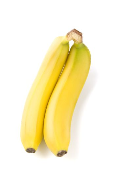 two bananas