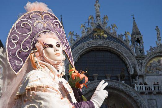 Venice Carnival Performers