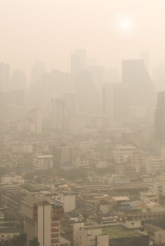 Bangkok in smog