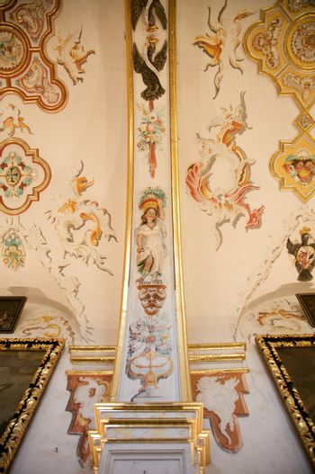 painted sacristy