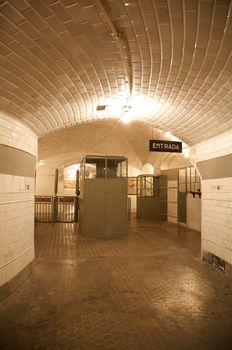 ancient underground entry
