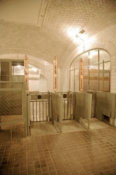 ancient underground exit