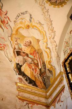 saint painted
