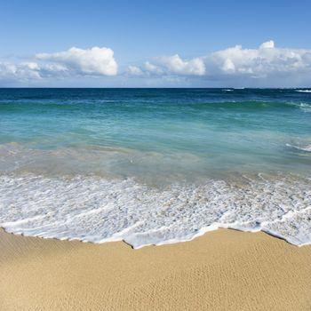 Beach landscape on Maui, Hawaii.