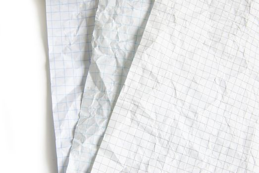 piece of white paper, great for textures and backgrounds.