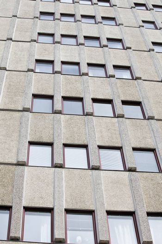 Worn building