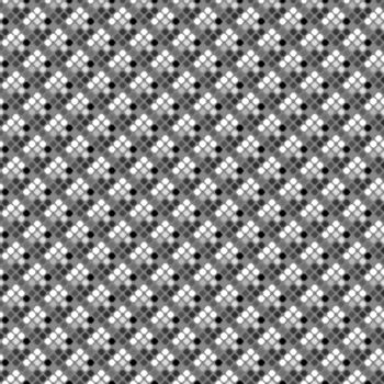 seamless halftone pattern of grungy spots in differnt grey shades