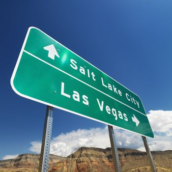 Southwest road sign.