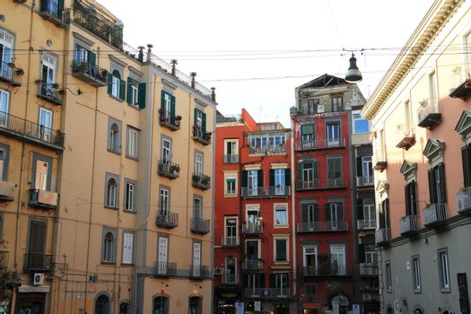 Busy Streets of Naples