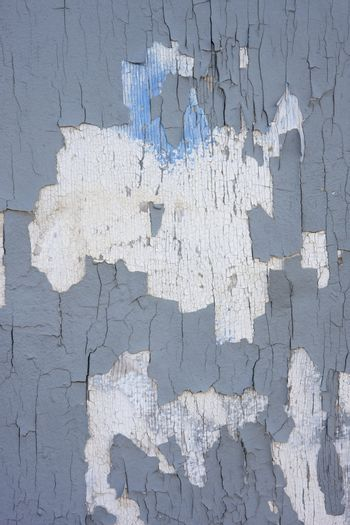 gray and white paint peeling off background