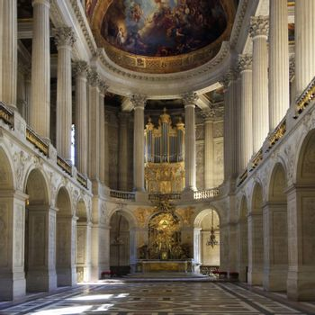 Royal Chapel of Versailles Palace, France