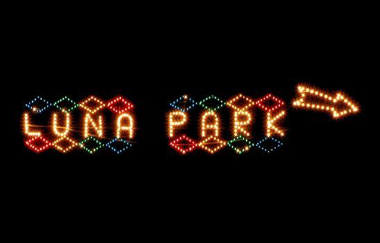 Luna park sign