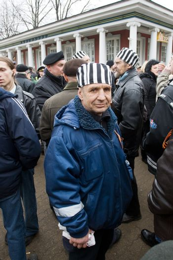 Protestors of Commemoration of the Latvian Waffen SS